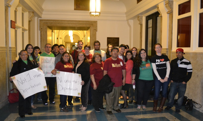 Unity Statement on the ICE Hold victory from the Philadelphia Family Unity Network