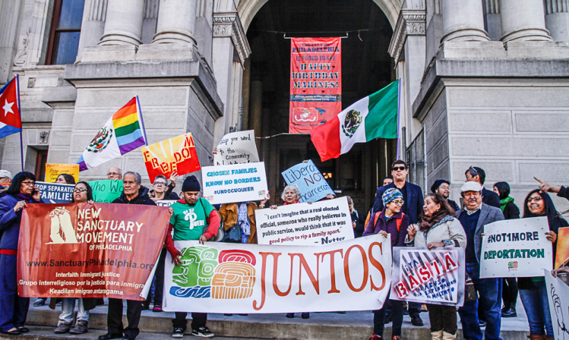 Action at City Hall: Stop the deportations, Mayor Nutter!