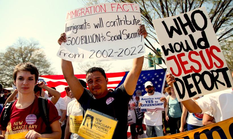 Washington DC rally for immigration reform