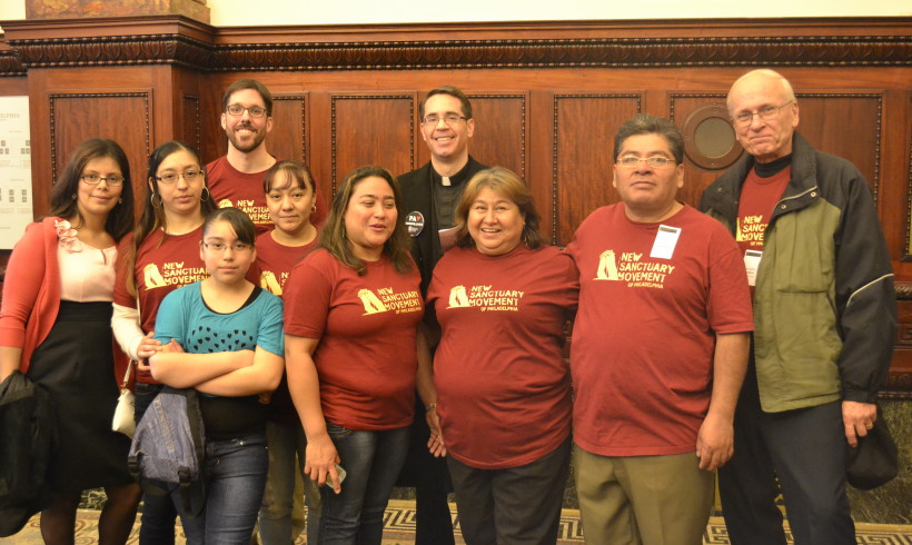 City Council Visits to win support