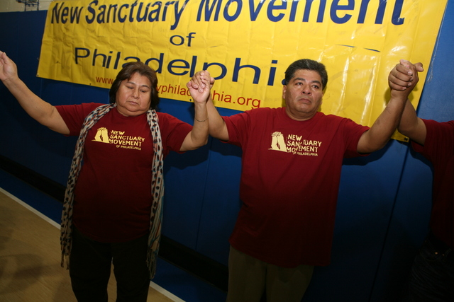 Re-launch of campaign against local deportations