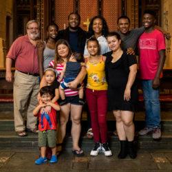 Jamaican and Honduran Families take Sanctuary at FUMCOG